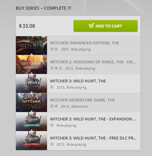 Release date announced for The Witcher 3: Wild Hunt GOTY