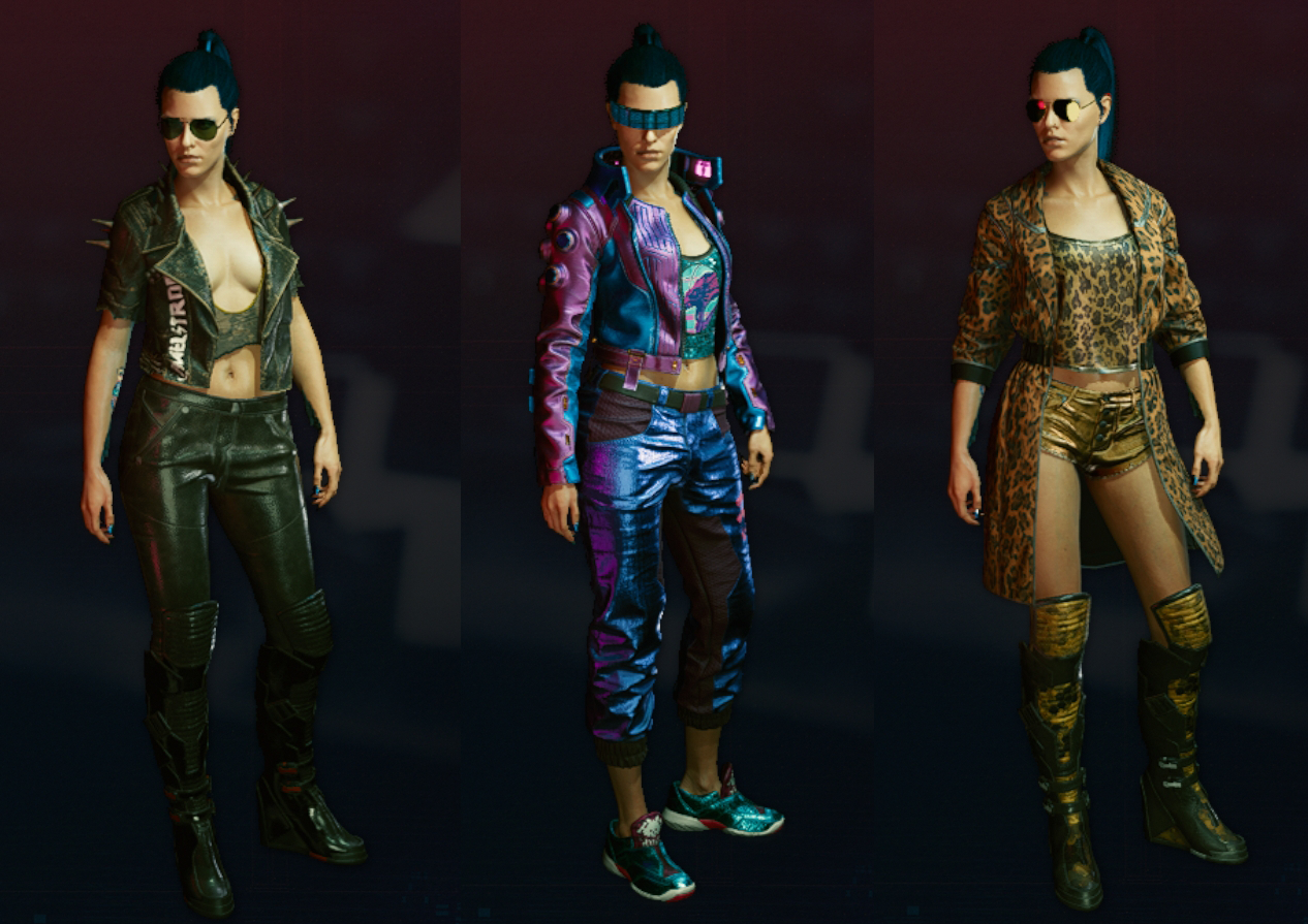 Cyberpunk 2077 Some Fav Outfits.png