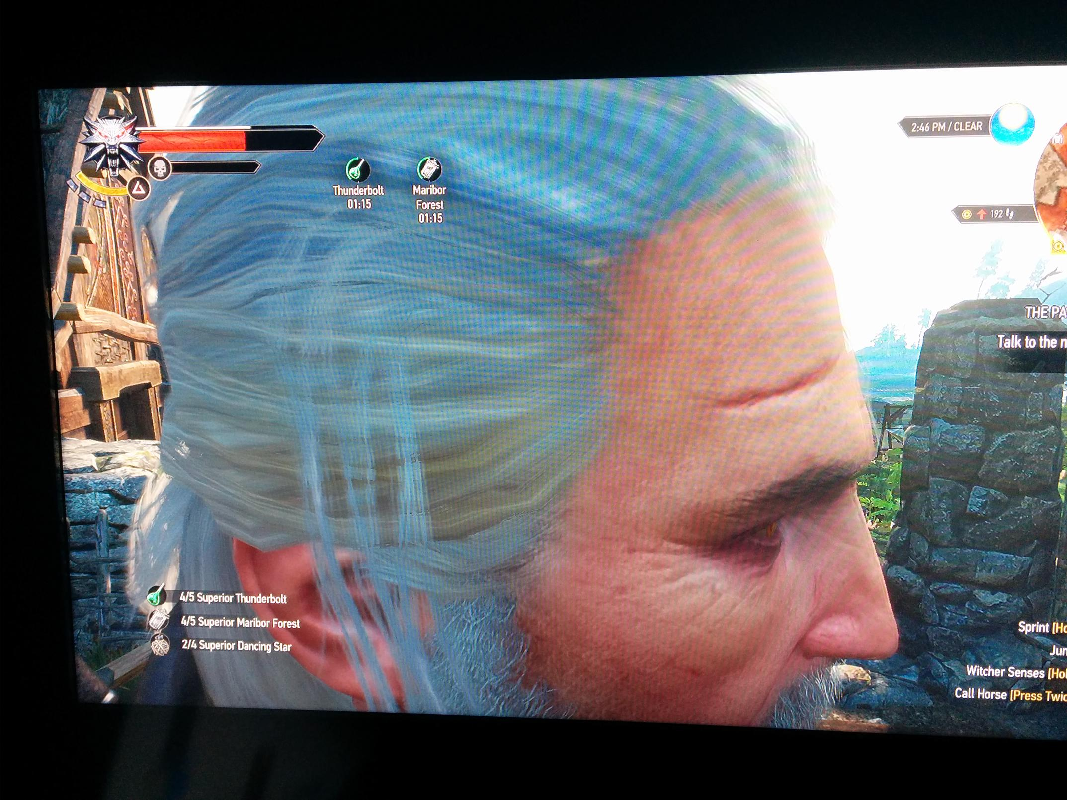 Bug] Camera Stuck Zoomed in on Geralt's Head | Forums - CD PROJEKT RED