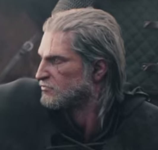 Geralt Old Haircut From The First Game Forums Cd