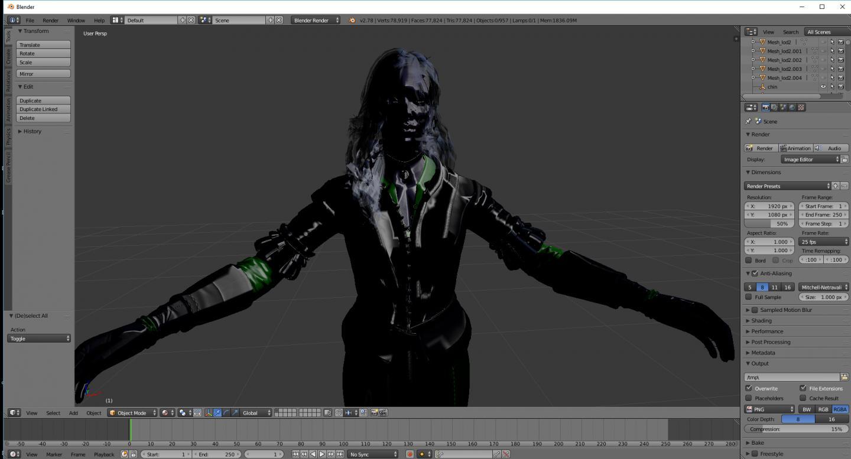 Help With  fbx material setup in Blender | Forums - CD PROJEKT RED