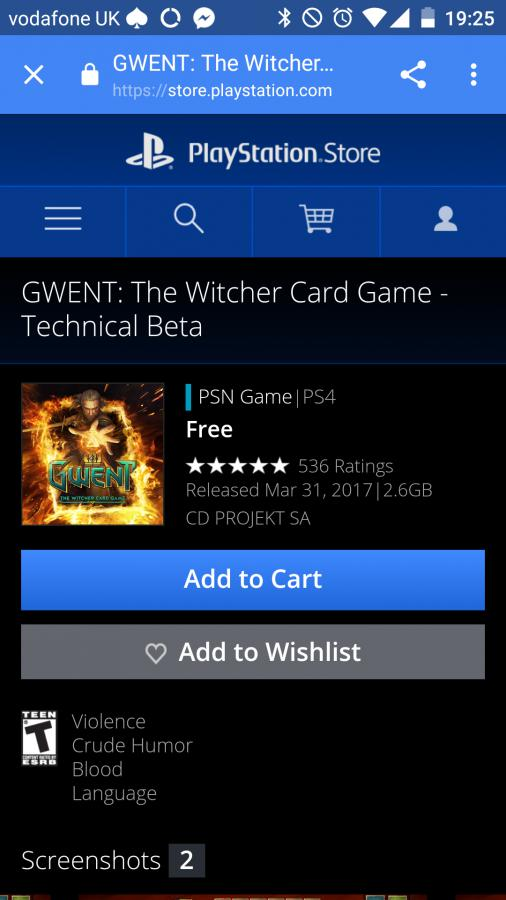 Can T Download Ps4 Version From Store Forums Cd Projekt Red