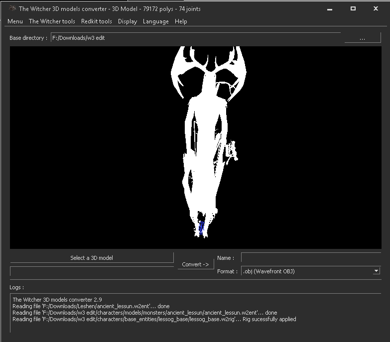 TW2/TW3/Redkit][tool] 3D models converter | Page 13 | Forums