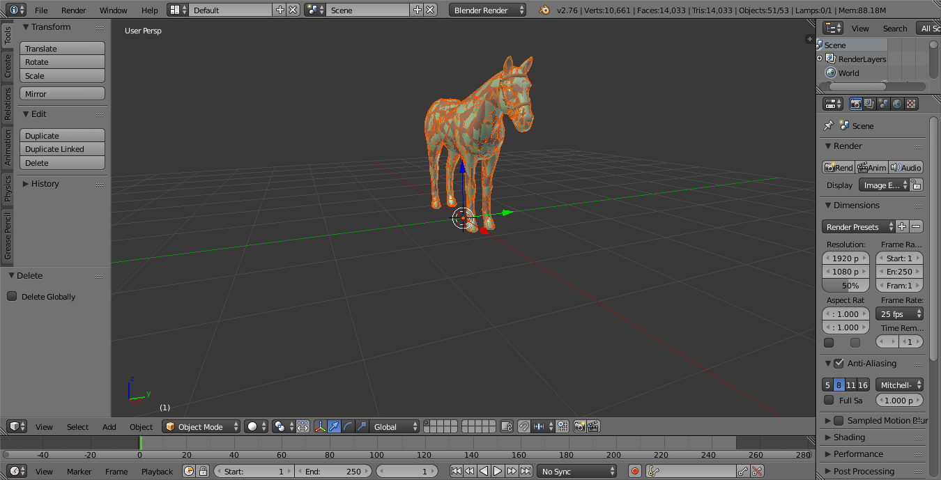 Problems with fbx file (opened in Blender) | Forums - CD