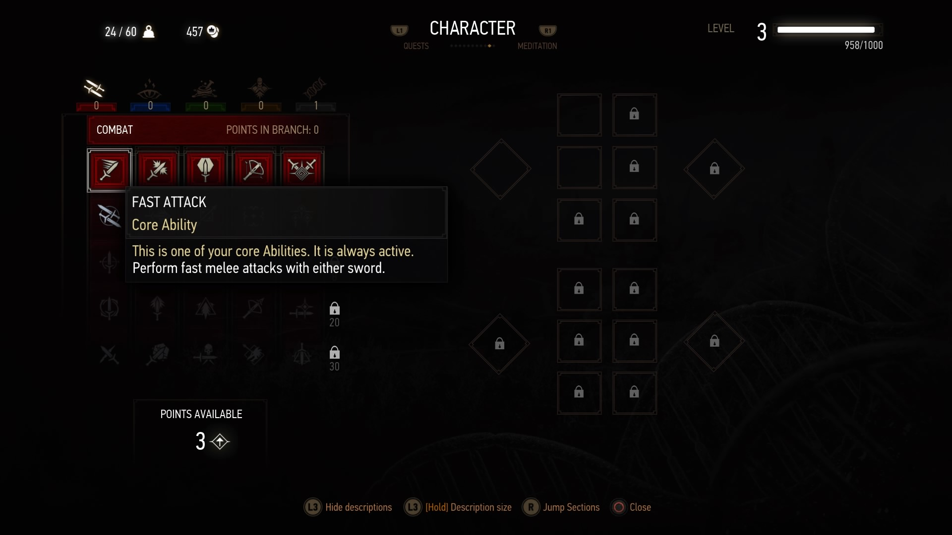 Bug, can't spend ability points | Forums - CD PROJEKT RED